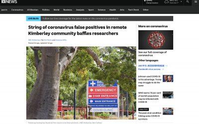 String of coronavirus false positives in remote Kimberley community baffles researchers